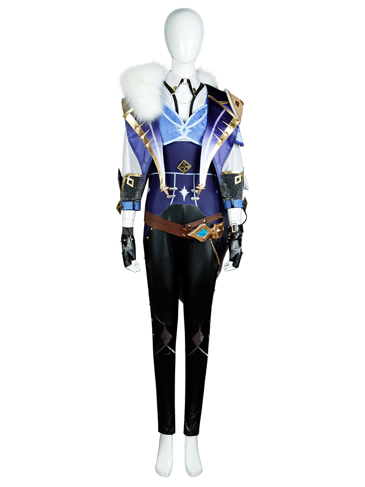 Cosonsen Genshin Impact Kaeya Cosplay Costume Kaeya Alberich Full Set Custom Made