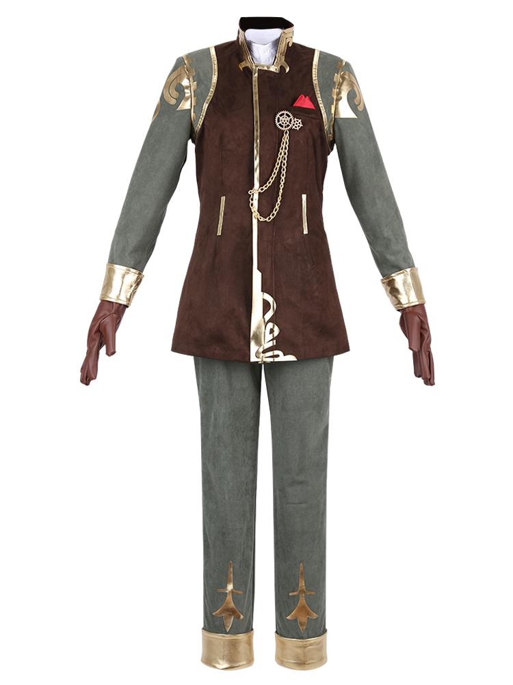 Cosonsen Identity V Embalmer Aesop Carl Cosplay Costume Game Oitfits Custom Made